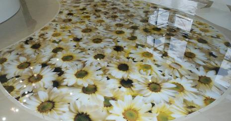 3D flooring order in Dubai, UAE: price, reviews