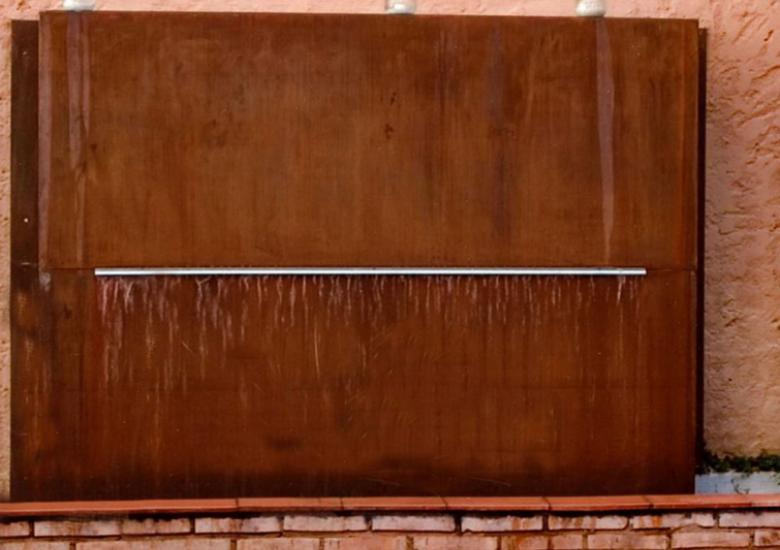 Corten wall