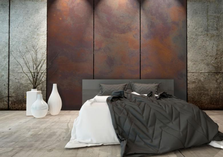 Rust corten for living room