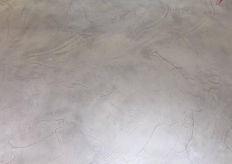 polished concrete trowel marks texture